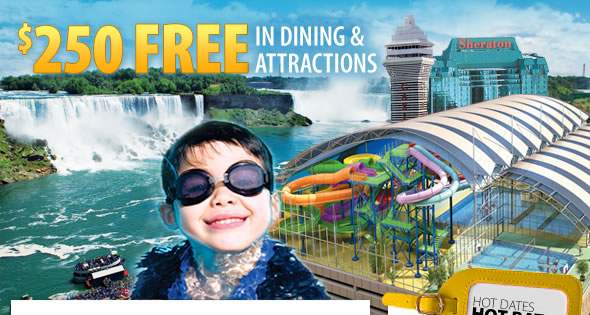 $250 Free in Dining and Attractions