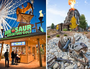 Dinosaur Adventure Golf - Clifton Hill
